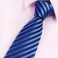 남성제품 빈티지 / 파티 / 작업/오피스 / 캐쥬얼 폴리에스테르 넥타이,줄무늬