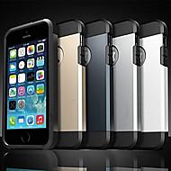 Käyttötarkoitus iPhone X iPhone 8 iPhone 5 kotelo kotelot kuoret Iskunkestävä Takakuori Etui Panssari Pehmeä Silikoni varten iPhone X
