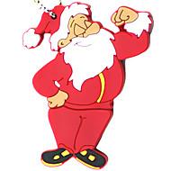 10x Babbo Natale bastone del usb, cartone animato flash drive qualità regalo di natale idea 16gb