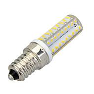 Marsing® E14 Dimmable 6W 500lm 3500K 72-SMD 3014 LED Warm White Light Bulb Lamp (AC 220-240V)