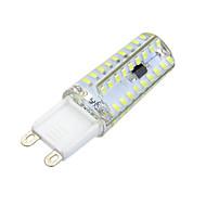 7W G9 LED à Double Broches Encastrée Moderne 72 SMD 3014 600-700 lm Blanc Chaud Blanc Froid Gradable Décorative AC 100-240 V 1 pièce