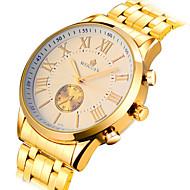 Men's Watch Gold Hollow Mechanical Waterproof Watch