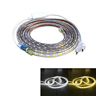 Jiawen Waterproof 52W 3200LM 240x5050 SMD LED Flexible Light Strip (4M-Length / 220V)