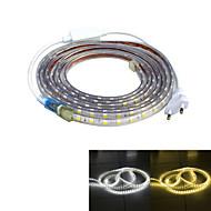 Jiawen vandtæt 52W 3200lm 240x5050 SMD LED fleksibel lys strimler (4m længde / 220v)