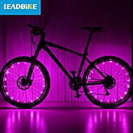 hjul lys LED Sykling Vandtæt Oppladbar Lumens Batteri Sykling