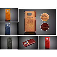 Oil Wax Style Case Cover Card slot Case For Samsung Galaxy S6 edge Plus/S6 edge/S6/S5(Assorted Color)