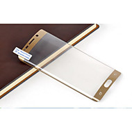 TPU 3D Full-screen Bending Proof Membrane For Samsung Galaxy S6 edge Plus (Golden)