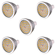 5 pcs MR16(GU5.3) 10 W 48 SMD 2835 810 LM Warm White / Cool White LED Spot Lights AC 85-265 / AC 12 V