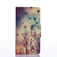 A flock of birds Painted PU Phone Case for Galaxy J5/J3/Galaxy On5