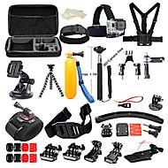 Gopro Accessory kit Bundle Kit for Gopro Hero 5 Gopro Hero 4 Gopro 3+ 3 2 1 for Outdoor Sports
