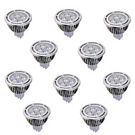 10 pcs GU5.3(MR16) 6 W 4*COB 540 LM Warm White / Cool White MR16 Decorative Spot Lights AC 85-265 , AC/DC 12 V