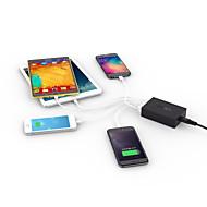 aukey pikalataus 2.0 54w 5 porttia USB työpöytä latausasema seinä laturi qc2.0 laturi pikalaturi