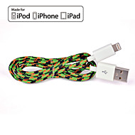 HXINH Nylon braided MFi Certified Lightning to USB 2.0 Charger SYNC Cable, for iphone 5 6 6s plus,iPad air mini pro, 1M