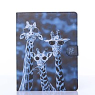 Crazy Deers Pattern PU Leather Full Body Case with Stand for iPad 2/3/4