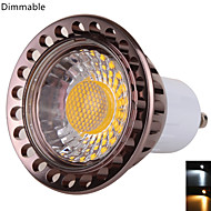 YWXLIGHT Dimmable GU10 9 W 1*COB 850 LM Warm White / Cool White MR16 Decorative Spot Lights AC 110 V / AC 220 V