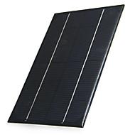 4.2w 6v output polykrystallinsk silicium solpanel til DIY