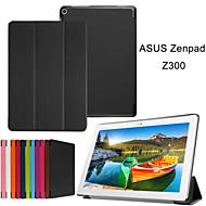 10,1-дюймовый тройной складной шаблон высокого качества PU кожа для ASUS zenpad 10 (z300c) (разных цветов)