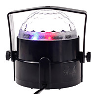 Pub Stage Prop Mini Crystal Ball Lamp Stage Lamp Voice Control Colorful Stage Light