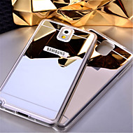 For Samsung Galaxy Note Spejl Etui Bagcover Etui Helfarve Akryl for Samsung Note 5 Note 4 Note 3
