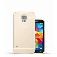 ειδικό σχέδιο του εξωφύλλου στερεό χρώμα μεταλλικό πίσω και προφυλακτήρα για i9600 Samsung Galaxy S5