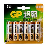 GP LR6 1.5V AA Household Batteries 12pcs
