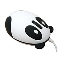 super cute panda design unico usb portatile ottico bella squisita moda piccolo mini mouse con filo