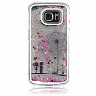 Για Samsung Galaxy Θήκη Ρέον υγρό tok Πίσω Κάλυμμα tok Ραδίκι PC Samsung S6 edge / S6 / S5 / S4