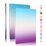 Good quality PU leather rainbow gradient holster for iPad Air 2
