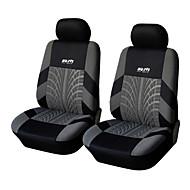 autoyouth 4個/セット車の座席は、ユニバーサルフィット素材ポリエステル3ミリメートル複合スポンジをカバー