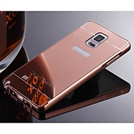 Protective Metal Bumper Frame with Back Cover for  Samsung Note2/Note3/Note4/Note5 (Assorted Colors)