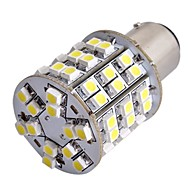2pcs Car T25 BAY15D 1157 Tail Stop Brake Bulb 3528SMD White 60 LED light 12V