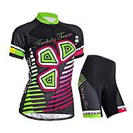 Conjuntos de Roupas/Ternos ( Preto ) - de Ciclismo / Trilha / Sertão / Motorbike / Triathlon - Mulheres -Impermeável / Respirável /