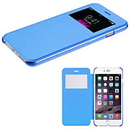 Für iPhone 6 Hülle / iPhone 6 Plus Hülle mit Halterung / mit Sichtfenster / Flipbare Hülle Hülle Handyhülle für das ganze Handy Hülle