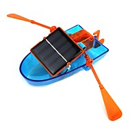 solcelledrevet kano montering diy skip leketøy