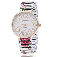Xu™ 아가씨들 패션 시계 석영 합금 밴드 블랙 화이트 그린 핑크