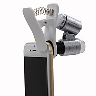 Monocolo / Lenti d'ingrandimento / Microscopio Generico 60x Plastica