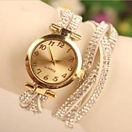 Sra. relojes de oro coreano nuevo listado de cachemira de moda