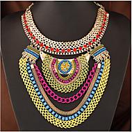 Žene Izjava Ogrlice slojeviti Ogrlice Legura Moda Nakit sa stilom Više slojeva Europska kostim nakit Jewelry Za Special Occasion Rođendan