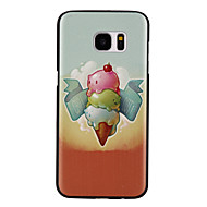 Ice Cream Pattern PC Material Phone Case for Samsung Galaxy S7/S7 edge/S7 Plus