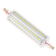 Ywxlight® dimmable r7s 12w 118mm 72smd 2835 1050lm blanc chaud / blanc chaud ac led 110-240v