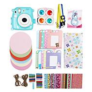 fujifilm instax mini-8 photo instantanée de cas polaroid accessoires pour appareil photo kit cadeau& autocollant (pas de caméra inclus)