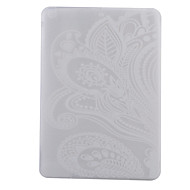 White Full Flower Pattern TPU Soft Back Tablet Case for iPad Air/iPad 5