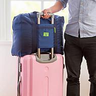1枚 旅行かばん 荷物整理 防水 防塵 耐久 折り畳み式 携帯式 のために 小物収納用バッグ オックスフォードクロス-ブラック ダークブルー レッド ライトブルー