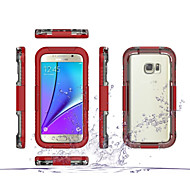 Für Samsung Galaxy S7 Edge Stoßresistent / Transparent Hülle Handyhülle für das ganze Handy Hülle Panzer PC Samsung S7 edge / S7