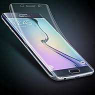 geval ultradunne transparant kristal film soft screen protector voor de Samsung Galaxy s7 rand