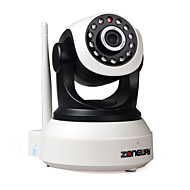 zoneway® PTZ 720p câmera ip wi-fi interior dias ir-cut noite p2p sem fio