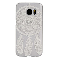 dreamcatcher patroon frosted transparante pc telefoon geval voor Samsung Galaxy S5 / S7 / s4 mini / s5 mini / s6 edge / S7 edge / S7 plus