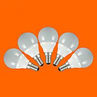 5 pcs FSL E14 / E26/E27 3W 5pcs SMD 2835 200 lm Warm White / Cool White G60 LED Globe Bulbs AC 220-240 V