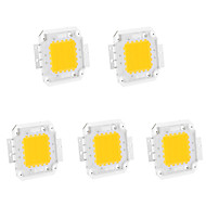 5Pcs 20W 1800LM 3000K/6000K Warm White/Cool White LED Chip(30-35V 600MA)