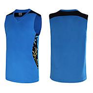 Hauts/Tops / Bas / Shirt ( Blanc / Rouge / Noir / Bleu / Orange ) - Fitness / Basket-ball - Sans manche - Homme